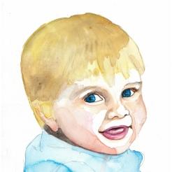Baby Painting Aine Macken